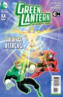 Green Lantern The Animated Series Issue 7 Cover by DarioBrizuelaArtwork