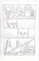 ClownTown Page 8 Pencils by ShotgunZen