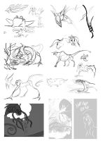 SKETCHDUMP THE FIRST. by BobTheDragon