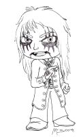 Rock and Metal Chibis: Alice Cooper (ACAS) by HypoThermus