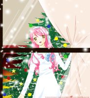 First Snow on Christmas Eve by MizuuHime