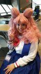 Chibiusa Cosplay at Genericon 2015 by Juliangirl