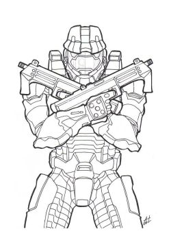 -Master Chief- by DeadCamper