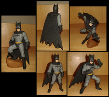 Batman plastilina by fsalkatras
