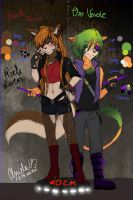 Oro and Reach: Rock Lovers by Magic-Ray