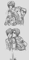 Couples Sketch Dump by Hootsweets
