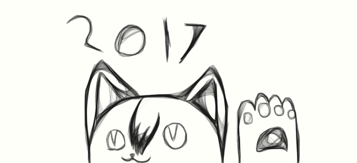 2017 Drawing by Pikachulover22477