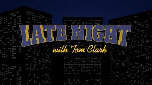 Late Night With... Title Graphic by graph-man