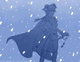 Queen of the Snowy Seas by piku-chan