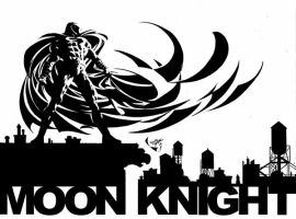 Moon Knight Promo Pencil by MikeDeodatoJr