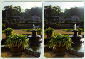 Baroque Gardens of Blankenburg 3D by zour