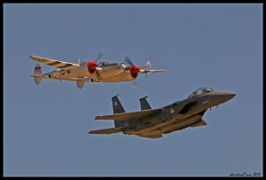 Planes of Fame Heritage II by AirshowDave