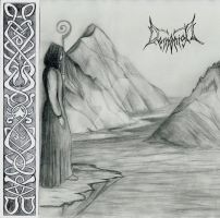 Black Metal CD Cover by ParanoiiidA
