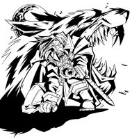 Genn Greymane - Ink by Lukali