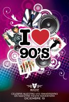 Mitote Bar 90's Party by INSAX