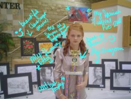 Me at Artshow by shannoncole