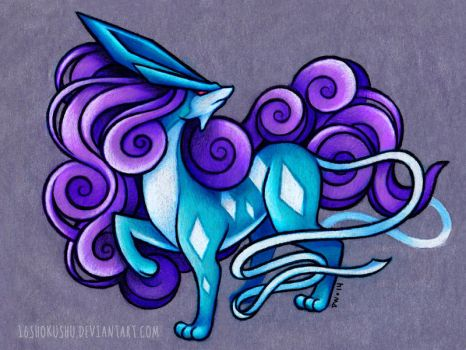 Suicune by dannii-jo