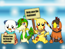 Gotta free 'em all! by CarlyChannel