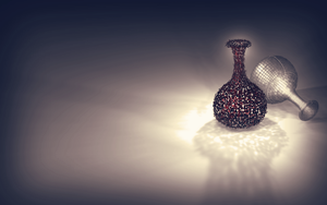 Vase pixels 3D by gfx-shady