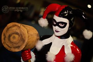 Harley Quinn Cosplay by Rattfinkphotography