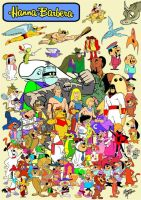 Hanna Barbera Tribute by slappy427