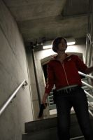 L4D:: Zoey in the Stairwell by DestructiveDoll