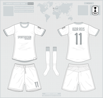 Oficial Template Sports Design MockupWar by IGORxREIS