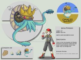 Omalee by Pokemon-Mento