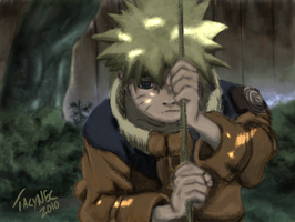 Loneliness - Naruto by JoeTacynec