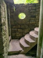 Jungle Castle Stairs and Window Stock by little-spacey