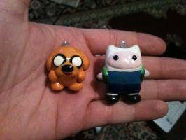 Finn and Jake Charms by NickLangleyInnovate