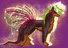 GIFT: Quill-Dog Number Three by MischievousRaven