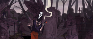 Graveyard Shift *ANIMATED GIF* by callupish