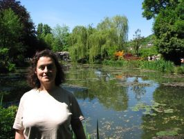me by him at Giverny by rivale