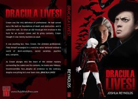 Dracula Lives - Book Cover by Snizitch