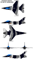 F-16 Arctic Aggressor by bagera3005