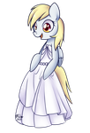 Derpy - Wedding Dress by Bukoya-Star