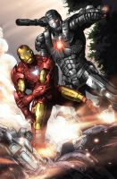 IronMan War Machine by arfel1989