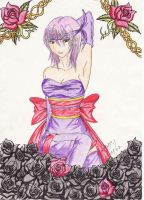 Ayane from DoA by Quitte87