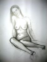Study of Woman I by Ethlinn