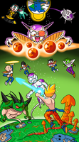 The Frieza Saga by BLARGEN69