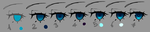 Anime eye coloring progress by agent-lapin