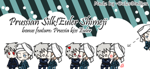 + Prussian Silk!Euler Shimeji Kiss Edition + by Serket-XXI