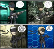 Solid Snakes by ebbewaxin