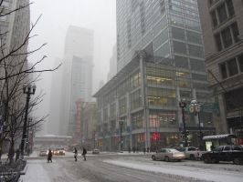 Another SnowStorm in Chicago by DreamOfYou