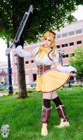 Mami Tomoe Cosplay: Golden Soldier by BlackRoseMikage
