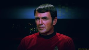 James Doohan Scotty VII Portrait by Dave-Daring