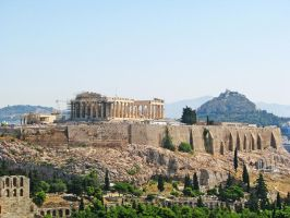 Parthenon by Meljona