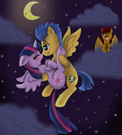 Fly Me To The Moon In My Dreams by Author-Bat-Pegasus