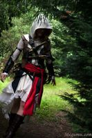 Carefully entering the woods by Megumiicosplay